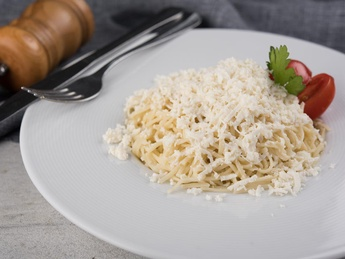 Homemade noodles with sheep's cheese