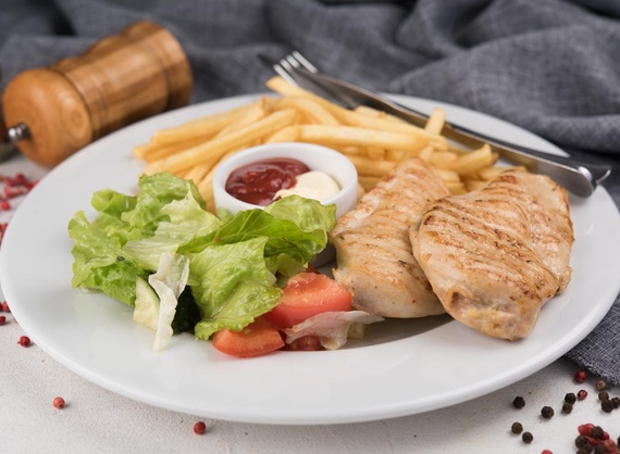 Chicken steak