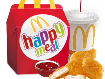 Happy Meal с McNuggets
