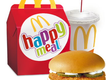 Happy Meal with McPuișor