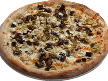 Pizza large Blanca