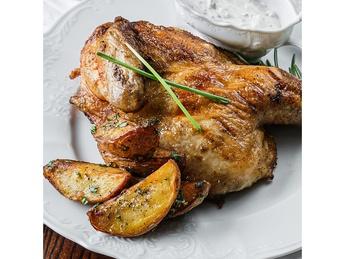 Цыпленок по-гречески - Хоспер