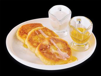 Ricotta pancakes sweet
