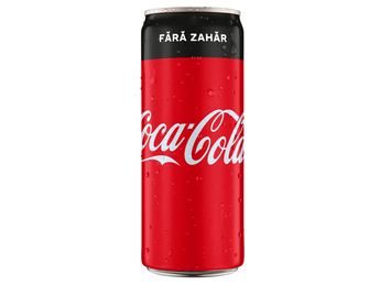 Coca-Cola Without Sugar 0,25l