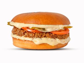Buckwheat burger