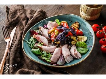Turkey pastrami sous vide