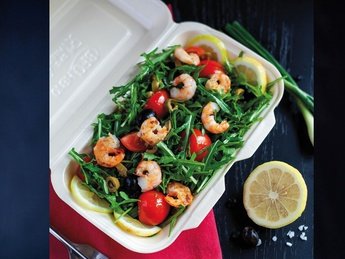 Salat Ruccola cu Creveti