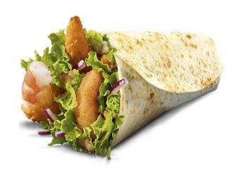 Shrimp McWrap