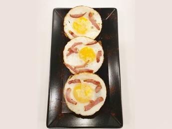 Fried Egg & Bacon