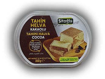 Halva din susan cu cacao Sitoglu