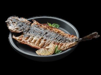 Grilled mackerel (1 serving)