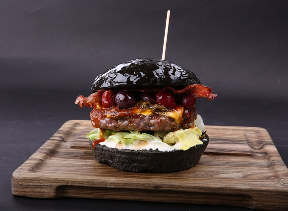 Black Stranger burger