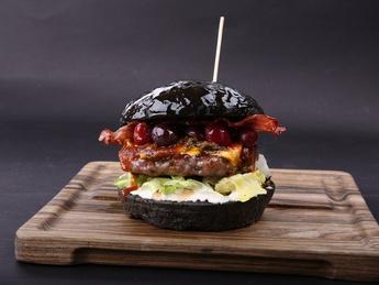 Black Stranger burger