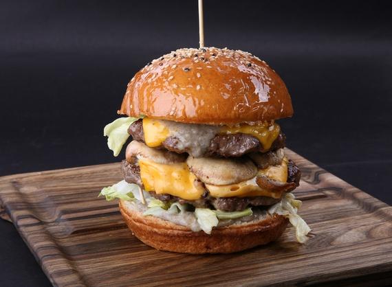 Truffle burger