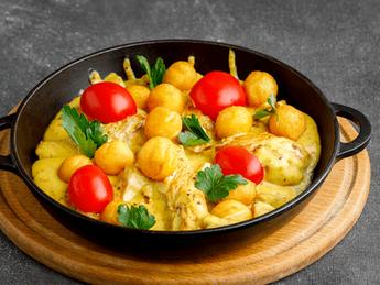 Chicken fillets in Dijon sauce
