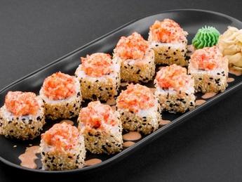 Tayo roll with shrimp