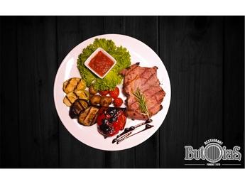 Pork cutlet with bone