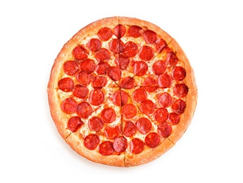 Pizza Pepperoni double - 25 cm