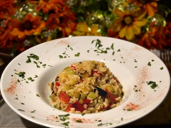 Risotti with vegetables