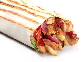 Double Shaorma kebab