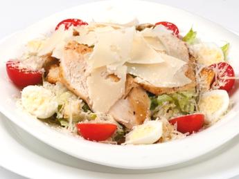 """Salad """"Caesar with chicken"""""""