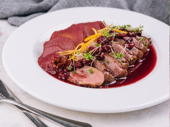 Duck breast fillets thin