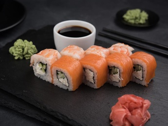 Roll Sake Ebi