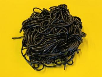 Wheat black noodles