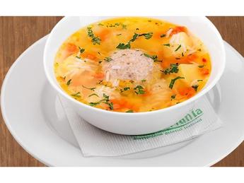 Chicken ball soup
