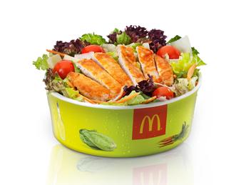 Salad Caesar grill