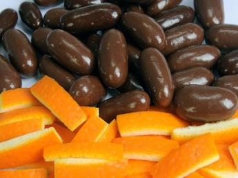 Draje cu coaja de portocala