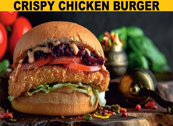 Crispy chiken бургер