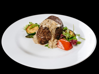 Mignon fillet with sauce