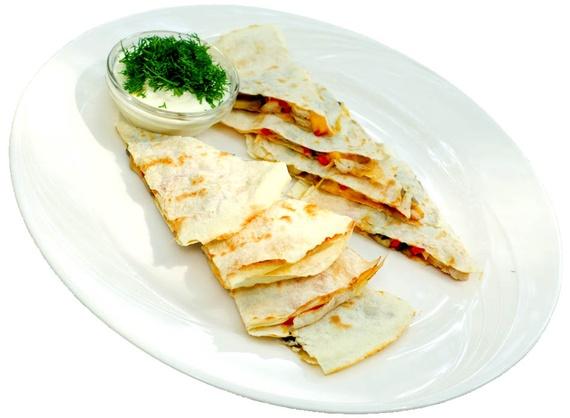 Quesadilla with veget