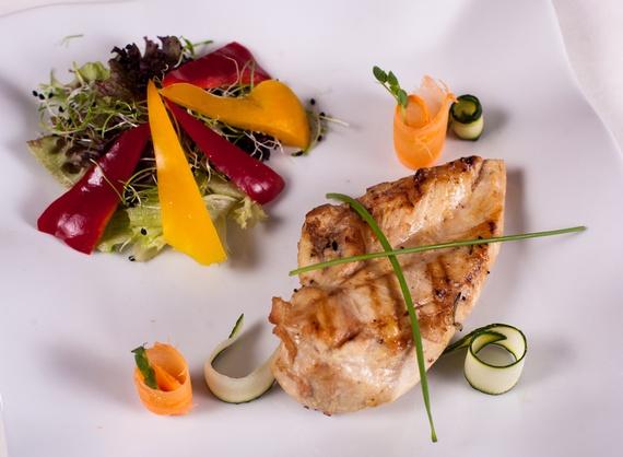 Versenz chicken breast with seasonal vegetables