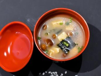 Supamiso wakame tofu