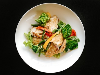Warm salad Calorosso