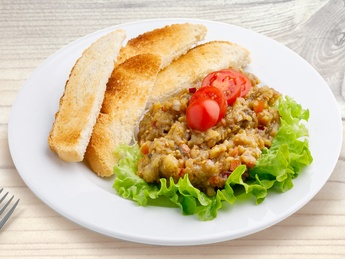 Закуска из баклажанов (постное)