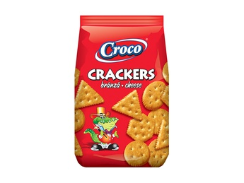 CROCO cheese crackers 100g