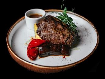 Jack Daniel's beef steak