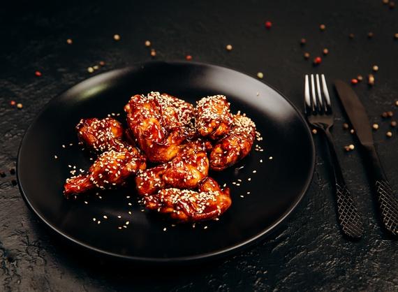Chicken Wings in sauce Teriyaki