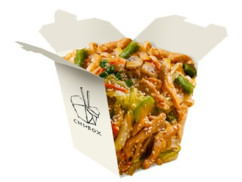 Udon with chicken [2]