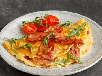 Bacon omellete