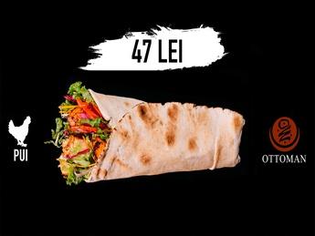Kebab cu carne de pui