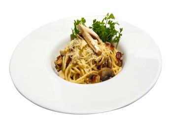 Mushroom chicken pasta