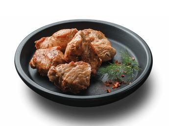 Skewersof turkey with tomato sauce (1 serving)
