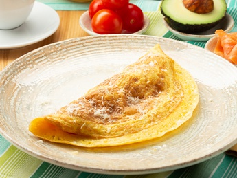 Classic omelet with topping of your choice