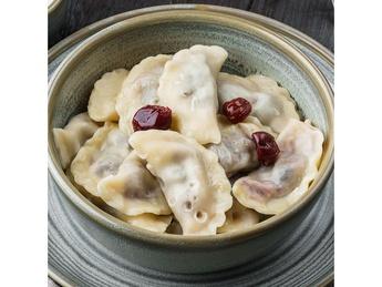 Cherry dumplings