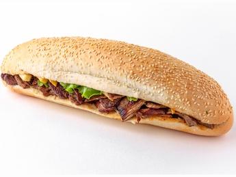 Mr. Beef baguette