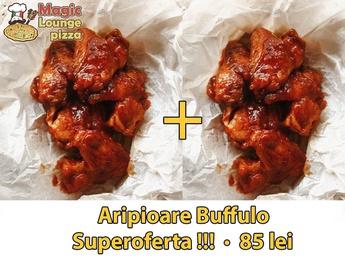 Buffalo wings (big portion)